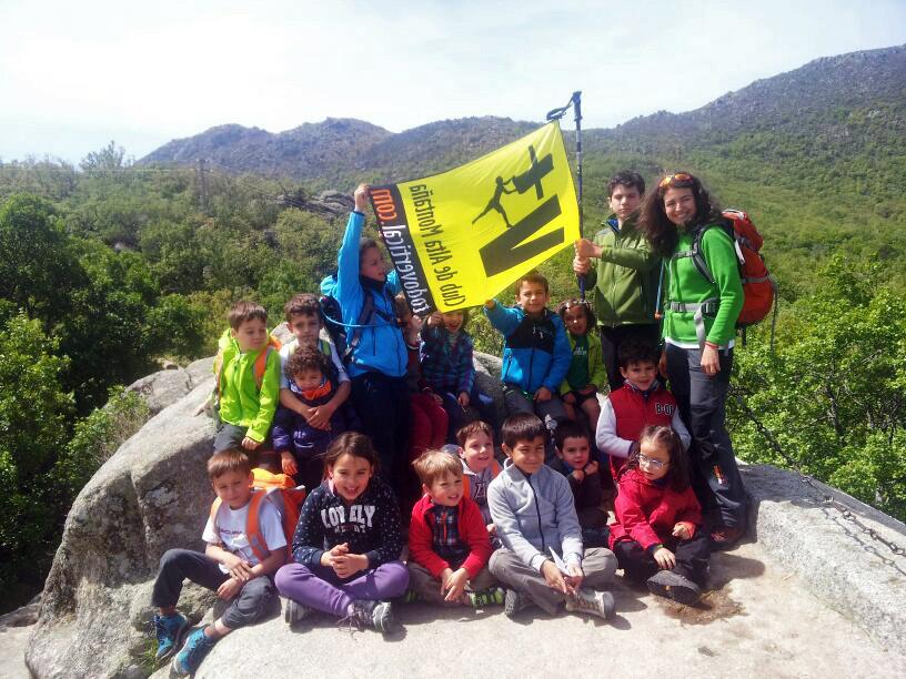 ESCUELA BABY - La Herrería - 27 Abril 2014 - Los alumnos de la Escuela Baby del Club TODOVERTICAL han realizado hoy una actividad de orientación en el bosque de La Herrería en San Lorenzo de El Escorial ... Qué grandes !!