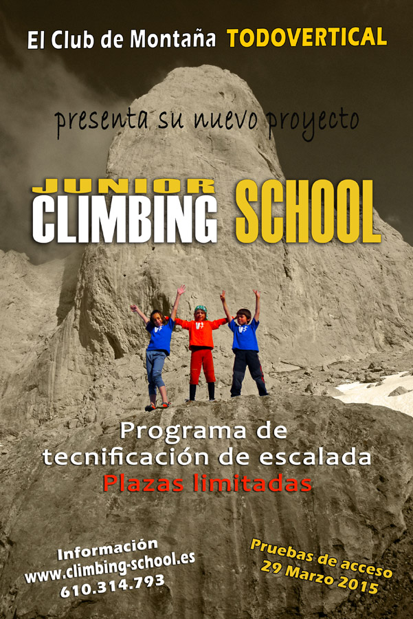 CARTEL Junior Climbing School 2015
