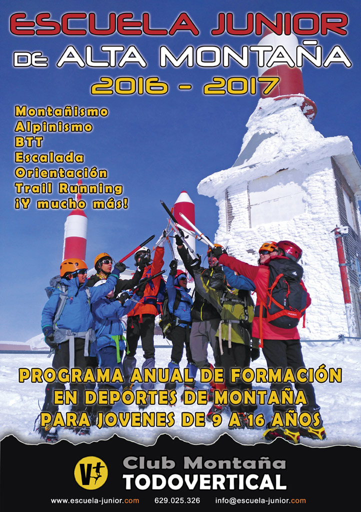 CARTEL ESCUELA JUNIOR 2016-2017