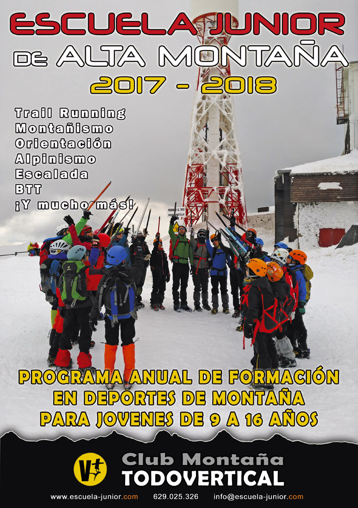 CARTEL ESCUELA JUNIOR 2017-2018