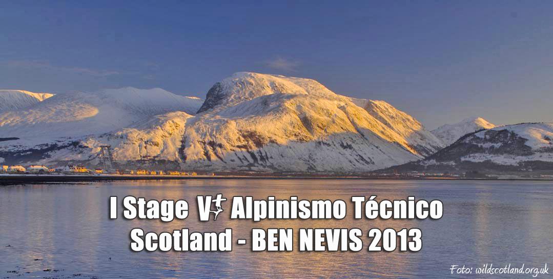 Ampliamos el plazo hasta el 31 de Diciembre para inscribirse en el I Stage Alpinismo Técnico - BEN NEVIS 2013