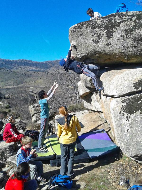 Boulder en Zarzal...