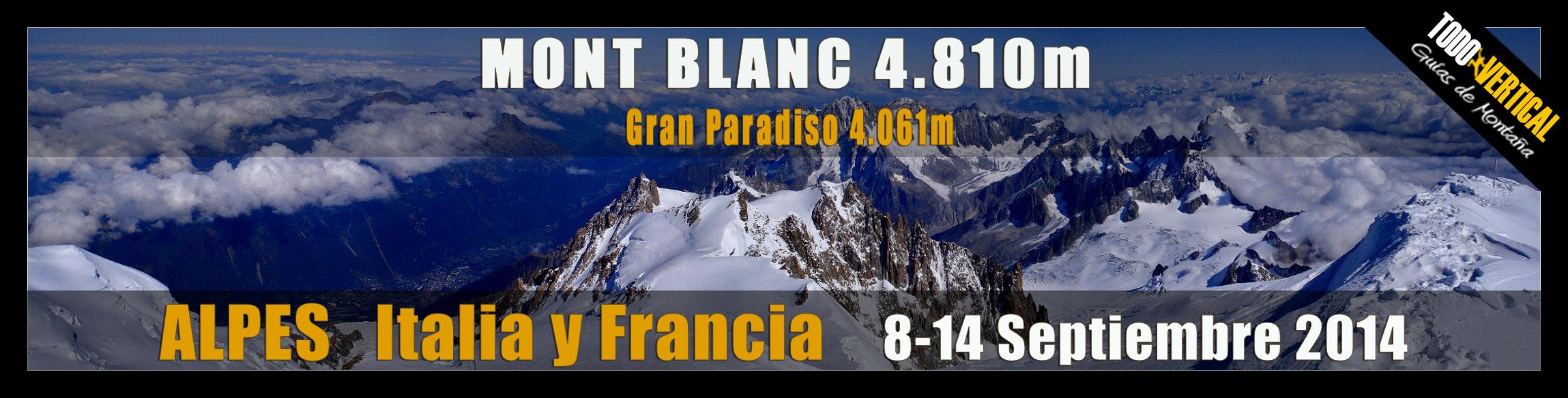 Alpes - Mont Blanc (4.810m)
