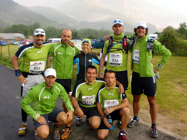 Representación del Equipo Running Team TODOVERTICAL V+ en los Skygames