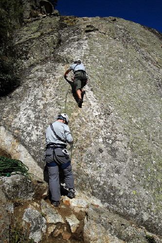 Curso Escalada Roca I Madrid 10-11 OCT09 #24