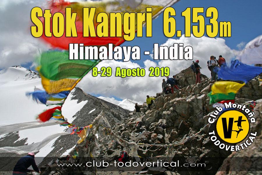 EXPEDICIÓN STOK KANGRI 6153m - Himalaya Indio - Ladakh - 8-29 Agosto 2019