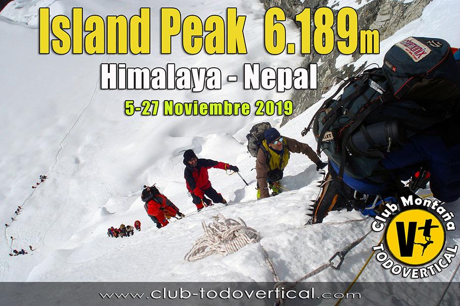 EXPEDICIÓN ISLAND PEAK 6189m - Himalaya Nepal - Valle del Khumbu - 5-27 Noviembre 2019