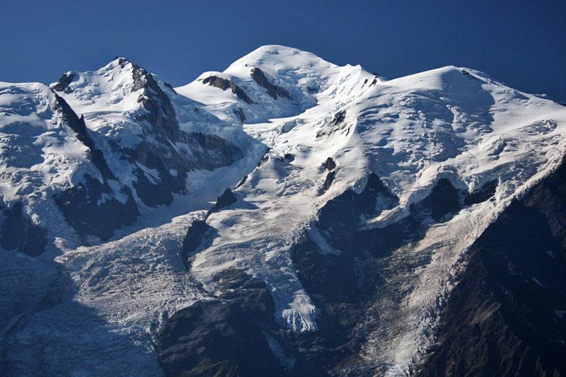 Mont Blanc - Los Alpes