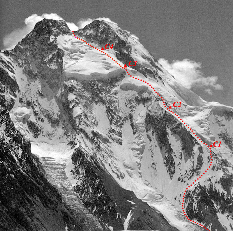 Primera ascensi�n invernal al Broad Peak 8.047m