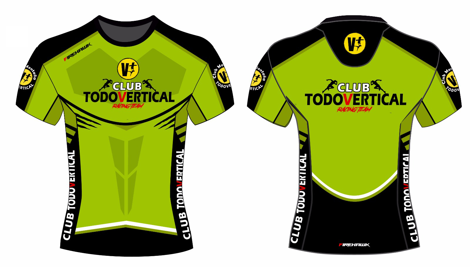 747af959393 CLUB DE MONTAÑA TODOVERTICAL (MADRID) - MERCHANDISING - CAMISETAS ...