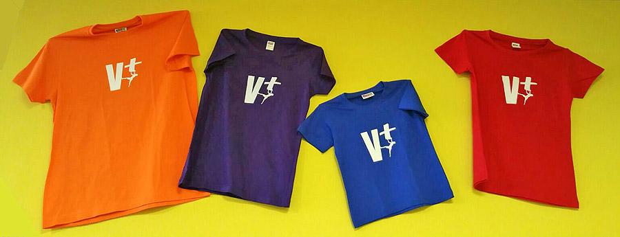 Camisetas algodón V+