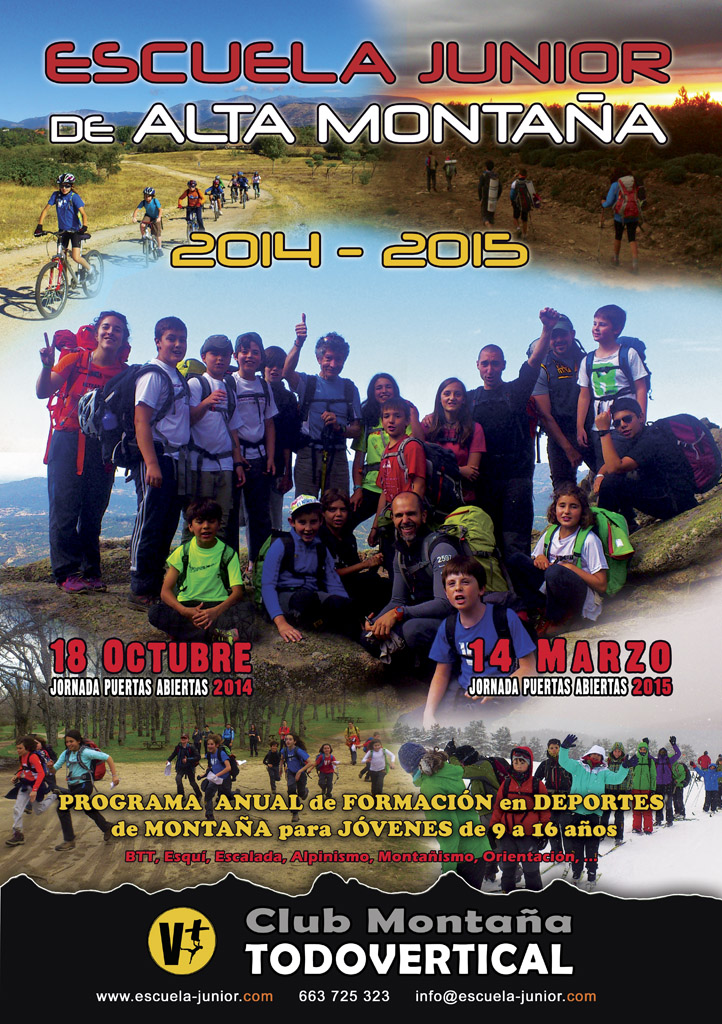 CARTEL ESCUELA JUNIOR 2014-2015