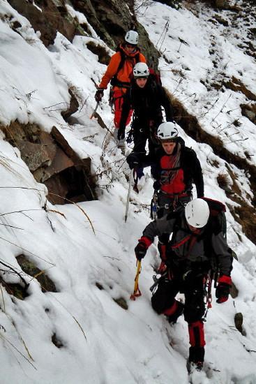 Cursos de Alpinismo Puente de la Constitución - Inmaculada 2012