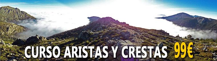 CURSO ARISTAS Y CRESTAS EN MADRID - 99€