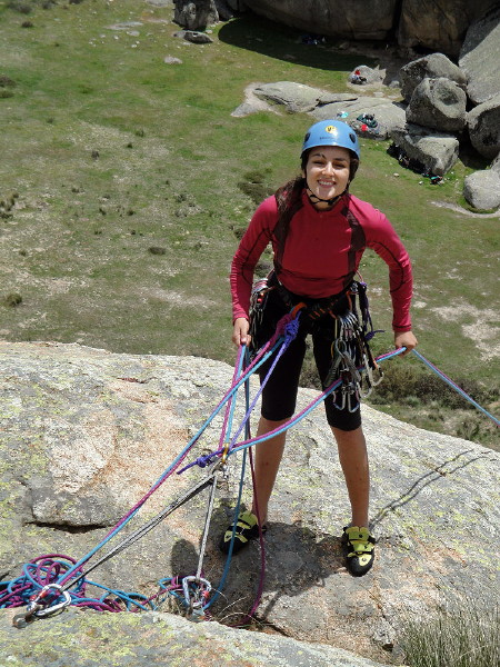 Curso Escalada Roca II - Clásica MAY-10 #14