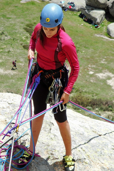 Curso Escalada Roca II - Clásica MAY-10 #16