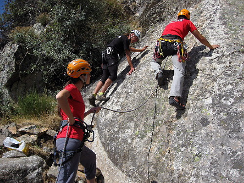 Iniciacion a la Escalada en Roca