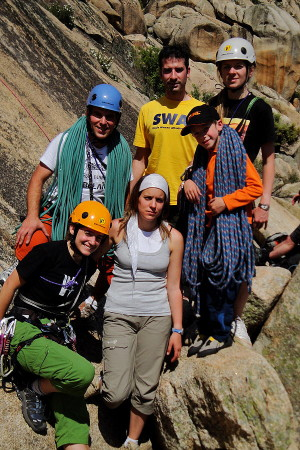 Curso Escalada Roca I Madrid 1-3 MAY 09 #35