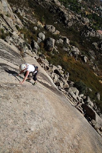 Curso Escalada Roca I Madrid 24-26 SEP09 #6