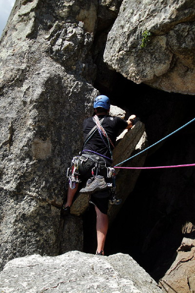 Curso Escalada Roca II - Cl�sica MAY-10 #47