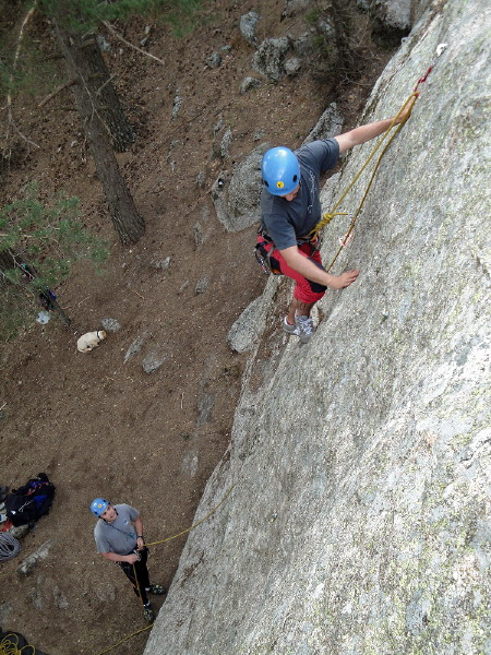 Curso Escalada Roca I Madrid 26-MAY-10 #16