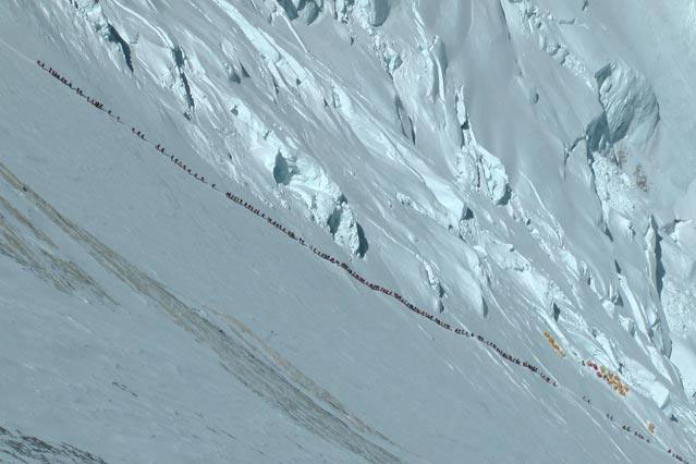Pared Lhotse-Everest 18 Mayo 2012