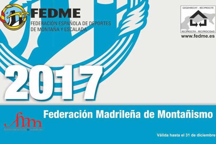 LICENCIA FEDERATIVA FEDME ONLINE 2017 Y REGISTRO DE SOCIO