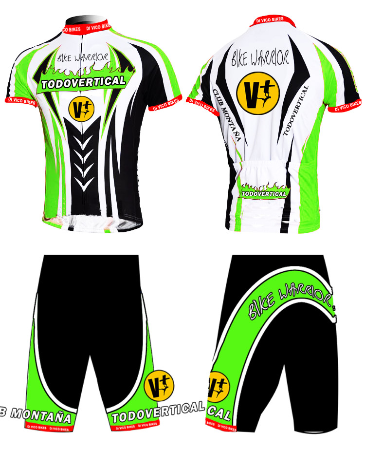 EQUIPACI�N CICLISMO BIKE WARRIOR 2013 by TODOVERTICAL