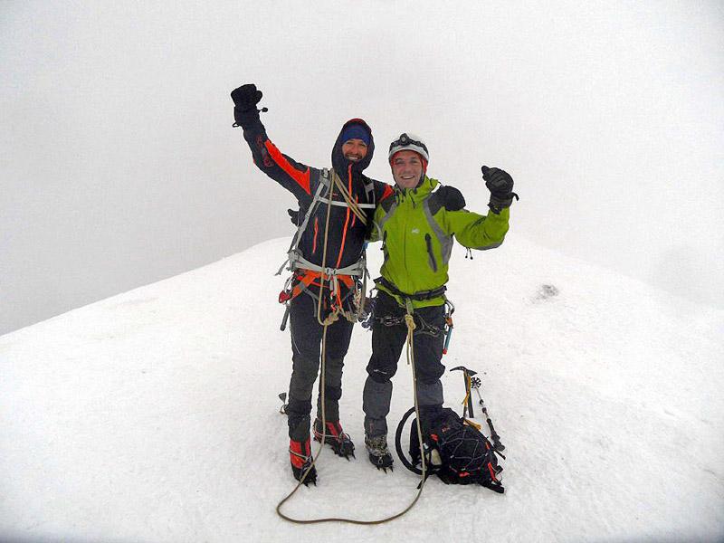 Alpes - Mont Blanc 4.810m - Gouter y Cuatromiles