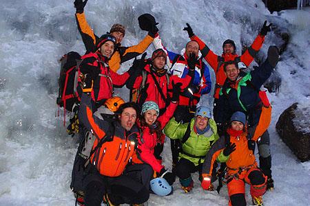 Grupo en Rjukan -...
