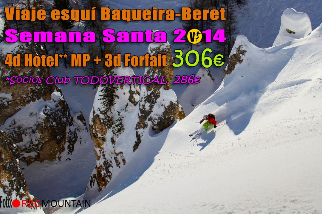 Viaje esquí Baque...