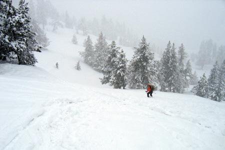 Gran nevada en la...