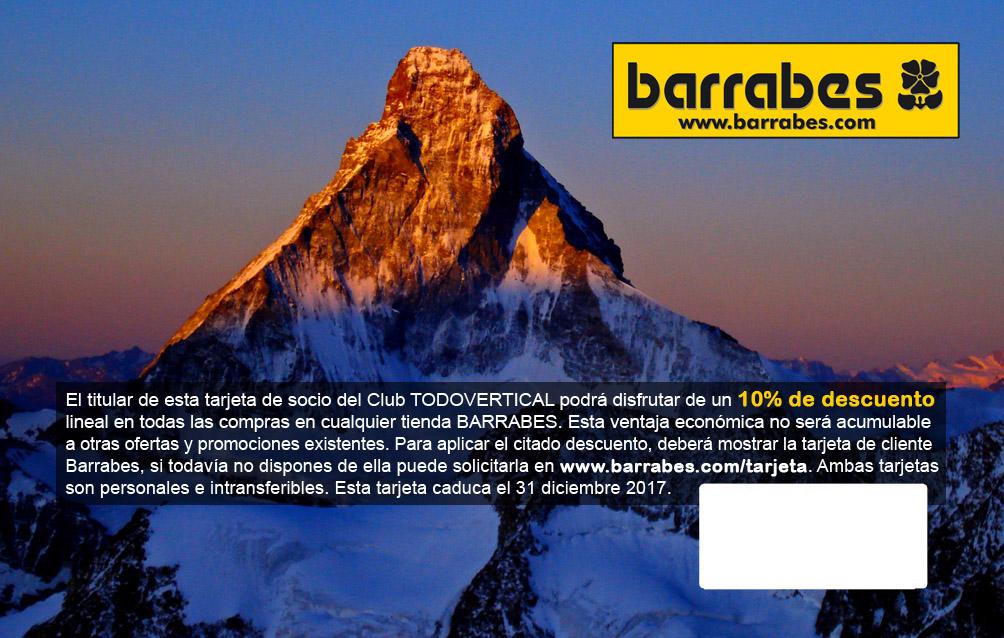 TARJETA BARRABES ...