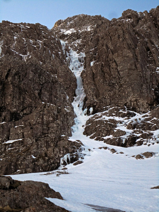 BEN NEVIS 1.344m - Cara Norte - South Castle Gully (II, WI2,210m) #16