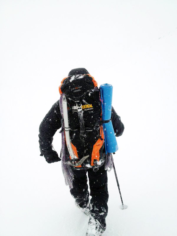 ¿Buenas condiciones en montaña? - Jornada interesante de montaña durante el pasado curso de alpinismo celebrado en Sierra Nevada en el Puente de la Inmaculada 2012. Muchas gracias por la foto David ... ;-) - Sierra Nevada - Diciembre 2012