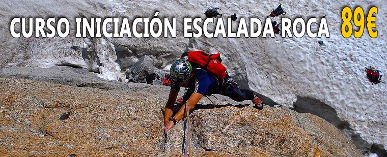 Curso Escalada en Roca I MADRID 89 - Curso de iniciacin a la escalada en roca en Madrid - Curso de escalada deportiva en Madrid - Rock climbing school in Madrid - Escalada deportiva en Madrid