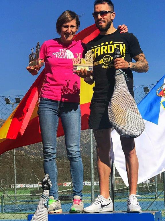 Soraya Gómez y Ávaro Jimenez vencedores V TRÉBOL TRAIL