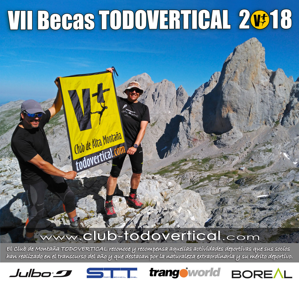Convocatoria Becas Club TODOVERTICAL 2018