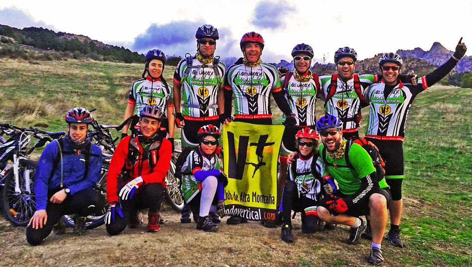 EL TEAM BIKE WARRIOR de TODOVERTICAL