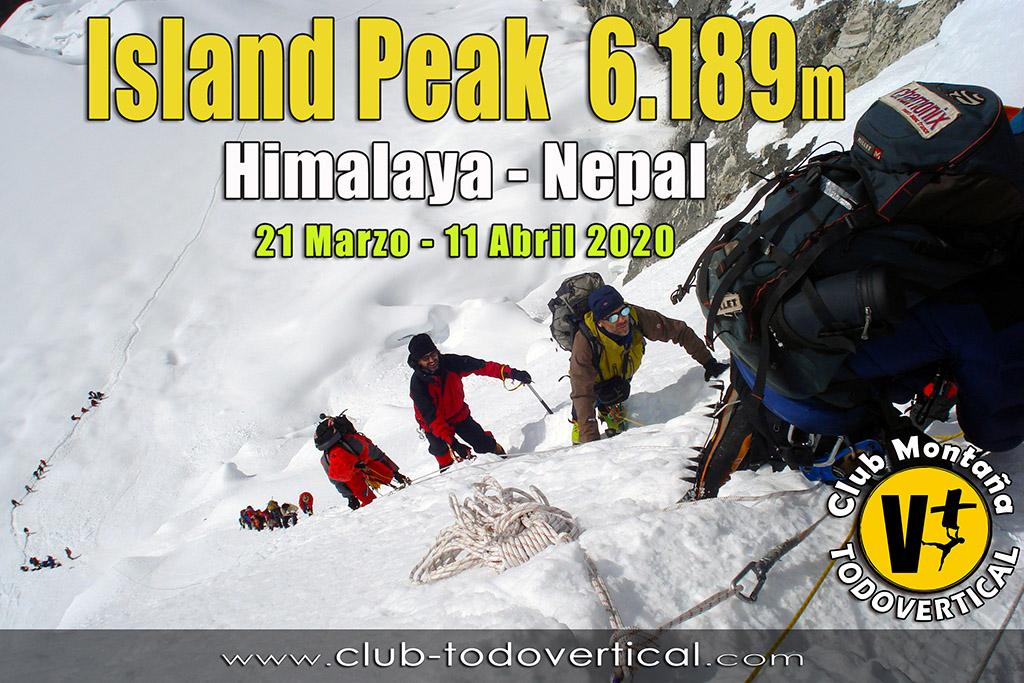 EXPEDICIÓN ISLAND PEAK (6.189m) - Himalaya Nepal - Valle del Khumbu 21 Marzo - 11 Abril 2020