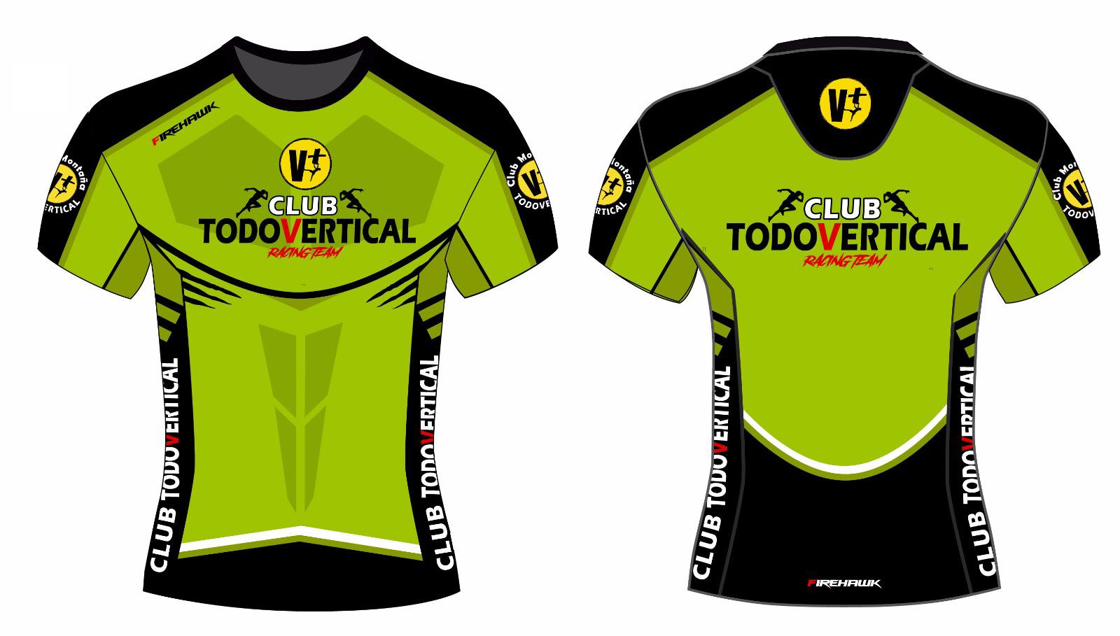Camiseta personalizada Running Team V+