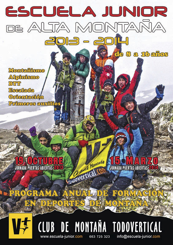 CARTEL ESCUELA JUNIOR 2013-2014