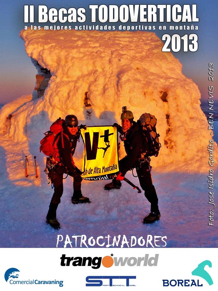 Convocatoria Becas Club TODOVERTICAL 2013