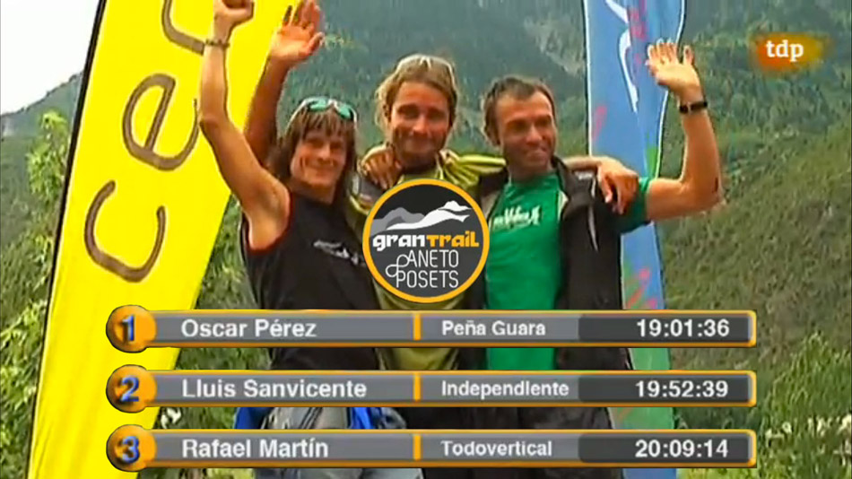 Ultramaratón de Alta montaña - Gran Trail Aneto-Posets 2013. Rafa Martín, Director del Running Team TodoVertical, 3º clasificado en el Ultramaratón de Alta montaña - Gran Trail Aneto-Posets 2013. Benasque - 28 Julio 2013