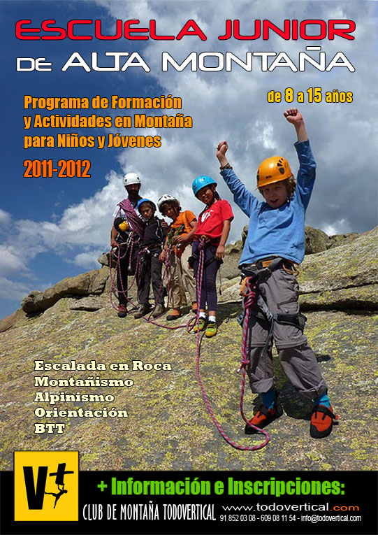 CARTEL ESCUELA JUNIOR 2011-2012